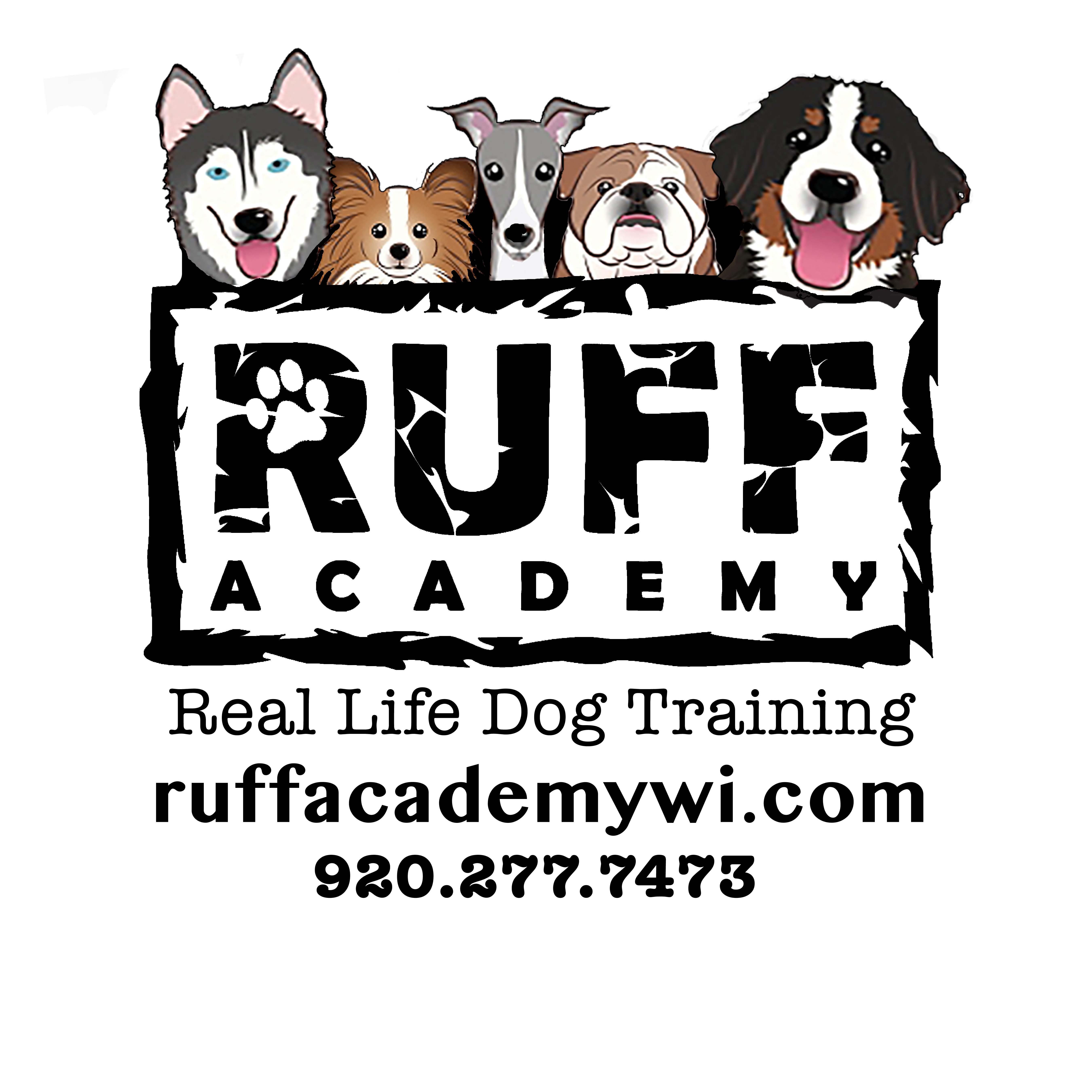 RUFF Academy Real Life Dog Training