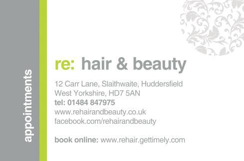 Re: Hair & Beauty