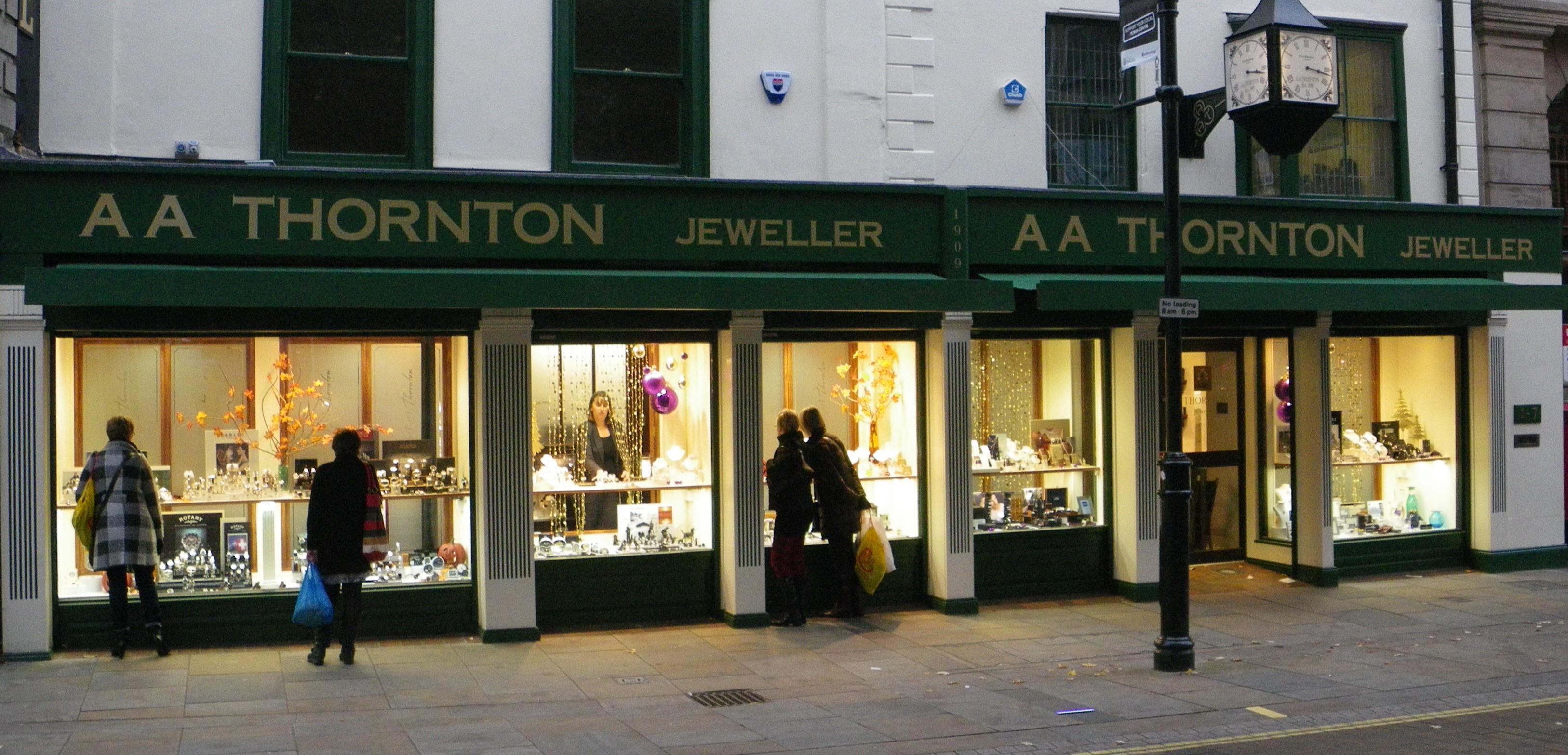A A Thornton