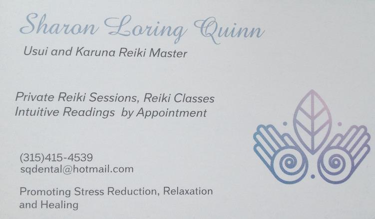Sharon Quinn ~ Reiki and Readings