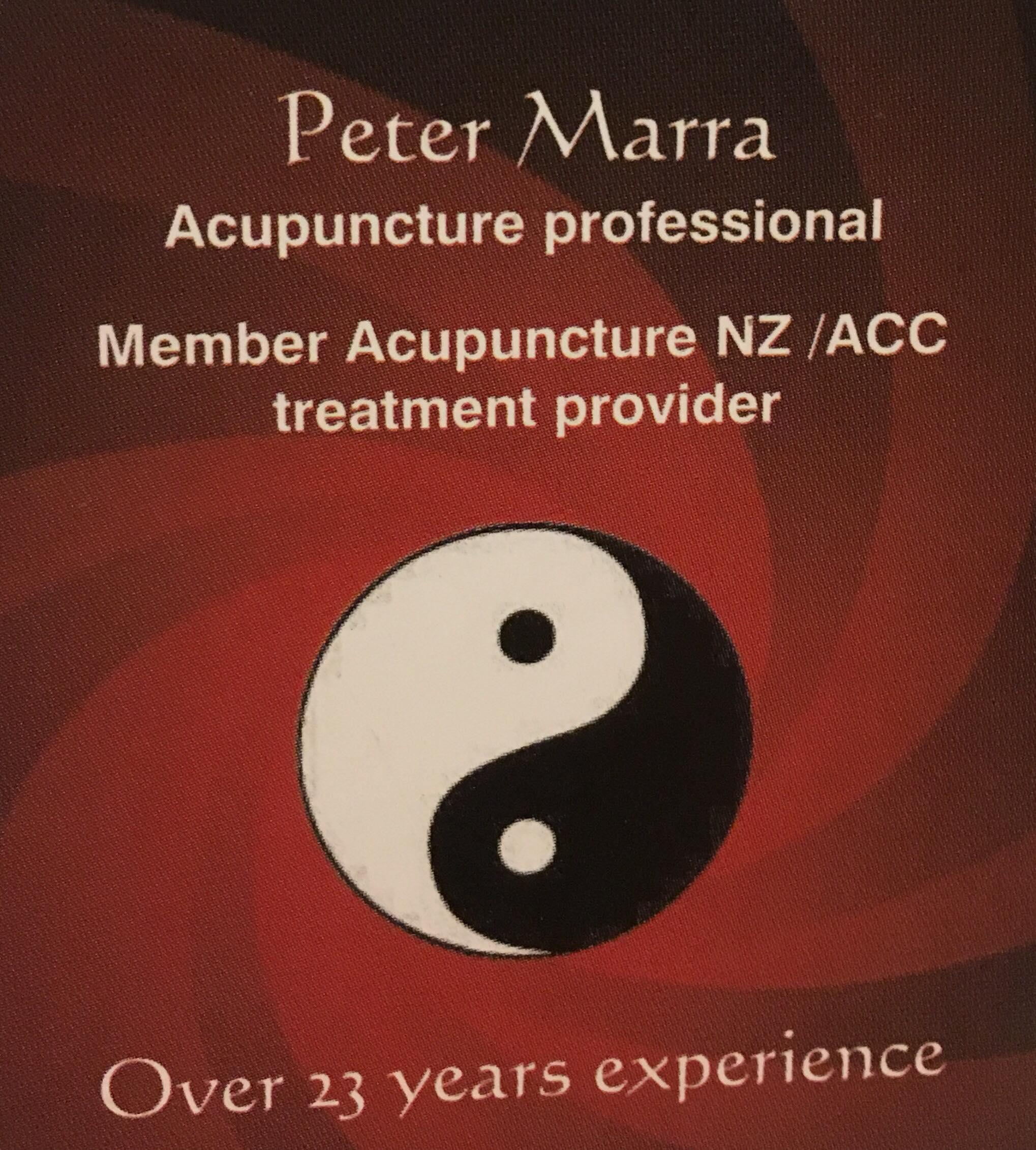 Peter Marra Acupuncture Professional